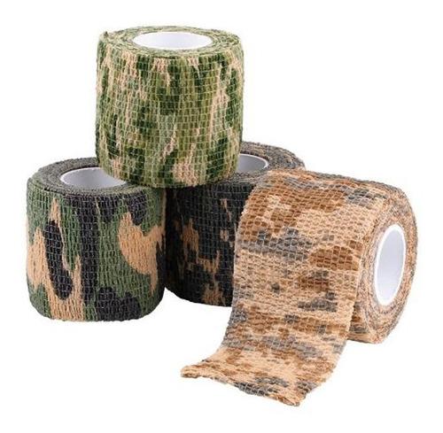 cinta para camuflaje, armas, binoculares, etc