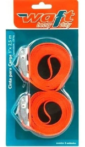 *cinta para cargas  l,1p x 2,5m = 2 cinta capacidade 150kg *