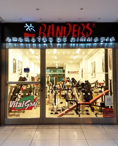 cinta para correr randers arg-783 motor 3hp 130 kg -15% off!