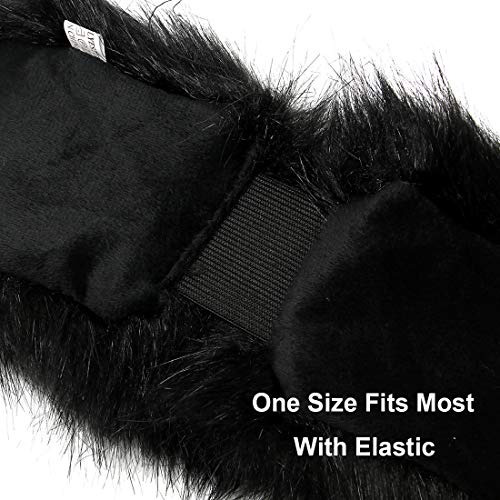 cinta para la cabeza elástica de piel sintética con orejer