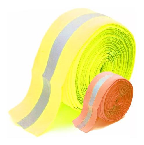 cinta para marcar cancha flúo día noche por metro mvdsport