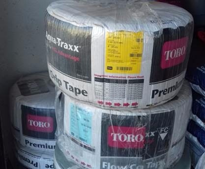 cinta para riego x goteo toro compensada 6mil  3048m 20cm