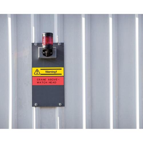 cinta para rotulador casio xr-12yw1 12mmx8m negro/amarillo