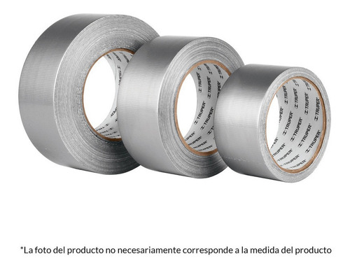 cinta p/ducto 48mm x 50m ref. tela 12588 truper