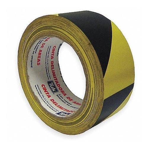 cinta precaución delimitadora de area  / tuck / 48mm x 33m