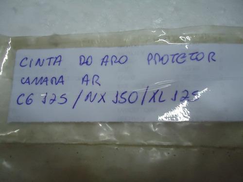 cinta protetora do aro camara 18 cg / nx / xl original honda