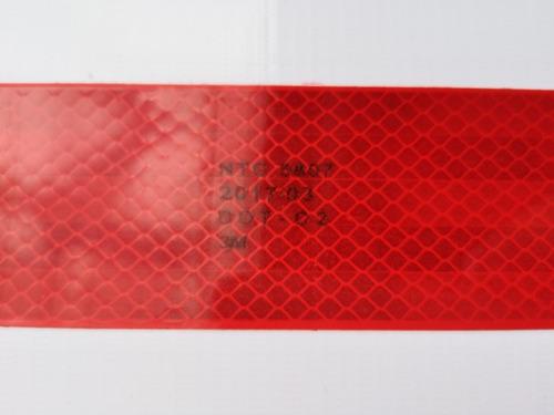 cinta reflectiva 3m  conspicuity blanca - roja