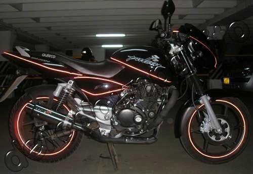 cinta reflectiva adhesiva 3-5mm para motos carros bicicletas