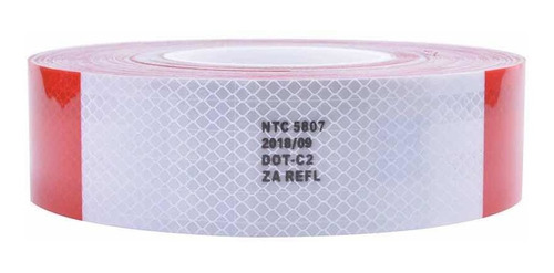 cinta reflectiva certificada alta calidad ntc5807 x 20 metro