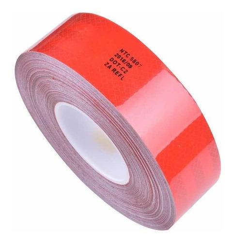 cinta reflectiva certificada alta calidad ntc5807 x 23 metro