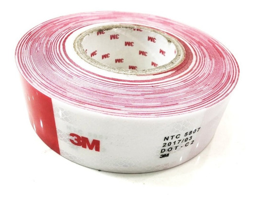 cinta reflectiva norma 5807 dot-c2 tira * 105cm 3m