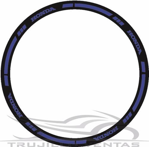 cinta reflectiva para aro de moto honda 150 cbr 250 cbf @tv
