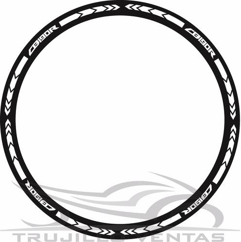 cinta reflectiva para aro de moto honda cb190r honda 190 @tv