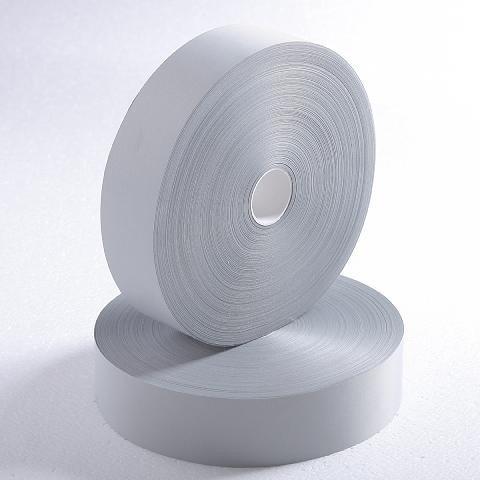 cinta reflectiva textil para coser - 5 cm ancho 5 mt largo