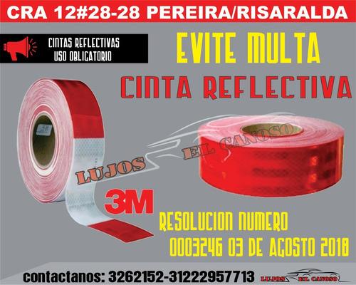 cinta retroreflectiva 3m original