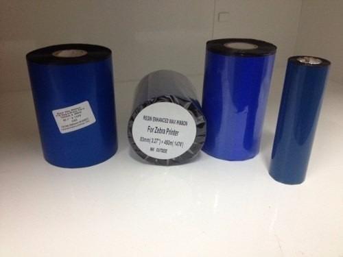 Cinta Ribbon De Cera Para Impresora De Etiquetas Zebra Tsc