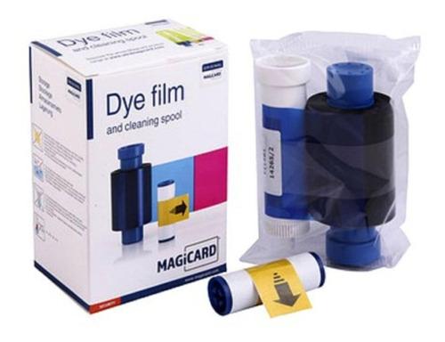 cinta ribbon ma300 ymcko dye film impresora magicard orig.