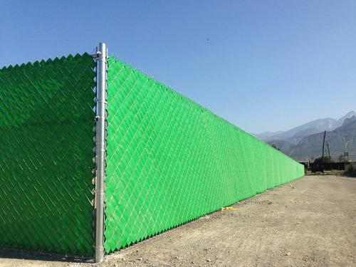 cinta rompevientos malla ciclonica plastica 10m2