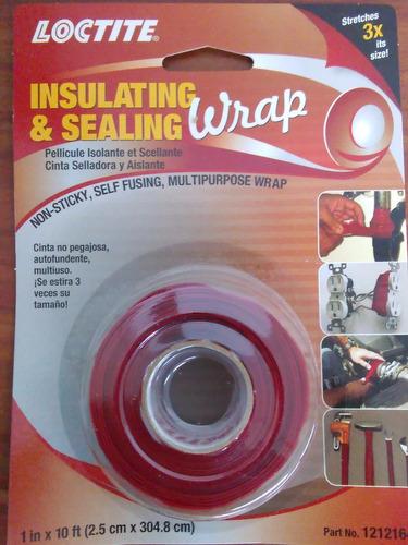 cinta selladora y aislante teipe de rescate loctite 1212164