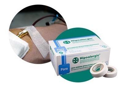 cinta tela adhesiva hipoalergenica de papel hipoalergic caja