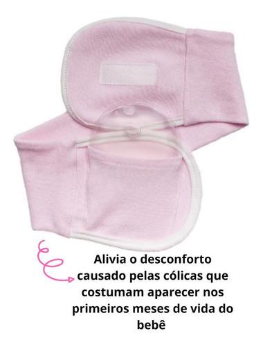 cinta térmica c/ bolsa gel alivio colica bebe buba envio 24h