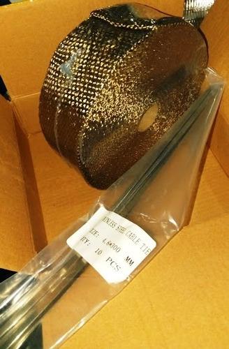 cinta termica dorada aislante calor headders escapes 5 cms