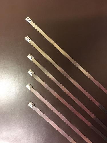 cinta termica escape fibra vidrio roja 5m + 2 precintos