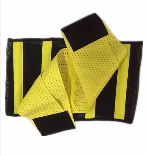 cinta térmica modeladora cintura ajustável hot abdominal hb