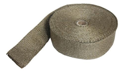cinta térmica titanio 5cm x 1000cm x 0,16cm ftx fueltech