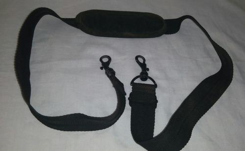 cinta tirantes laptop bolso con broches 1,10 mts