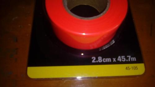 cinta topografica para embanderar marcar linderos stanley