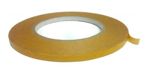 cinta transferible, doble contacto o doble cara 50 x 0,6