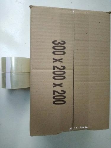 cinta transparente 48 x 50 /24 unidades /43 micrones