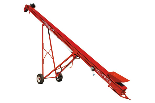 cinta transportadora de granos semillas a granel