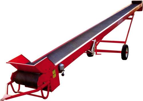 cinta transportadora granos semillas mixta granel y bolsa