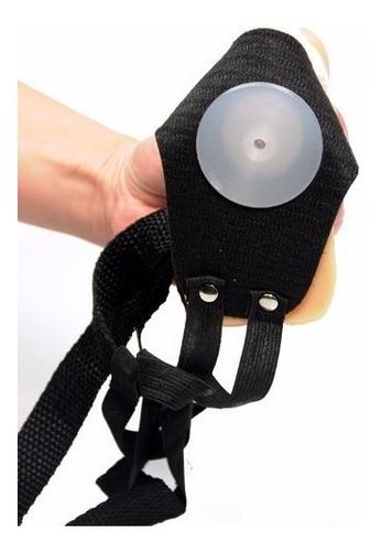 cinta tripla em cyber skin c/ vibrador produto exclusivo