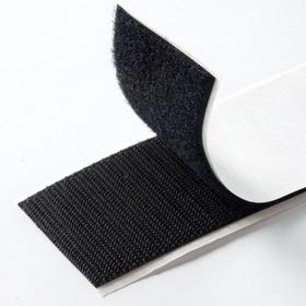 Cinta Velcro Adhesivo 1 Metro X 2.5 Centimetros Negro Blanco
