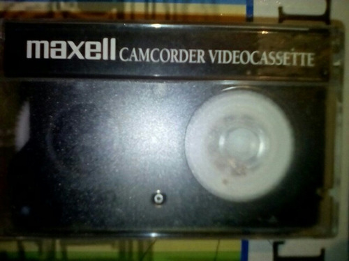 cinta vhs camara filmadora 8mm maxell tc30 nueva