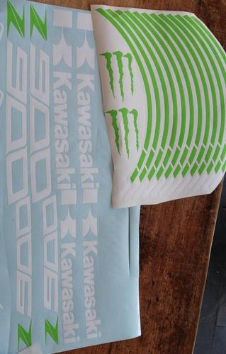 cintas calcos sticker kawasaki z900
