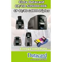 Cintas - Ribbon Datacard Ymckt-kt Series Cp/cd 535000-006