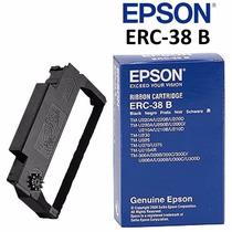 Epson Cinta Original Para Impresora Tm-220 Tm-u325 Erc-38b