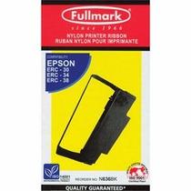 Cinta Fullmark Epson Erc-30/34/38 Para Tickeras