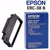 Cinta Epson Erc-38 B Original Color Negro