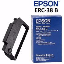 Cinta Epson Original Erc-38b Color Negro Nueva