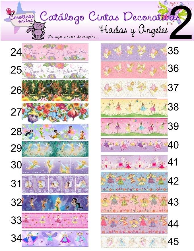Cintas Cenefas Decorativas Para Cuartos Infantiles Ninas ...