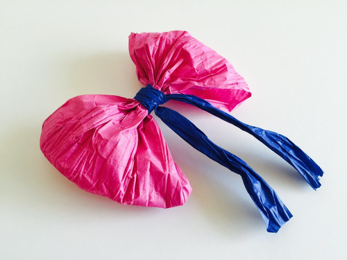 cintas cordón de papel | moños de papel | cintas para regalo
