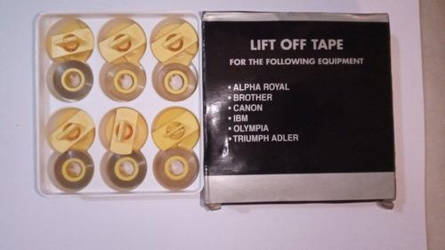 cintas correctora para ax10 y otras grupo gr-143