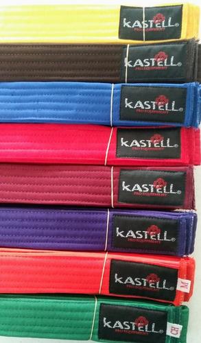 cintas de grado kastell taekwondo, karate, hapkido