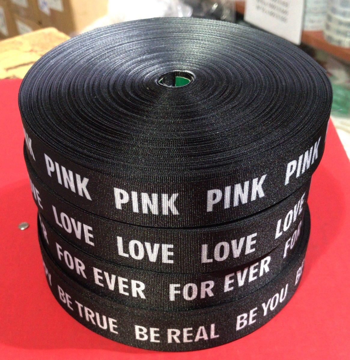 Cintas De Moda Con Frases De 25mm X 100 Mts