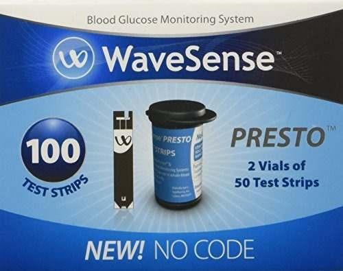 cintas de prueba wavesense presto, 100 count box